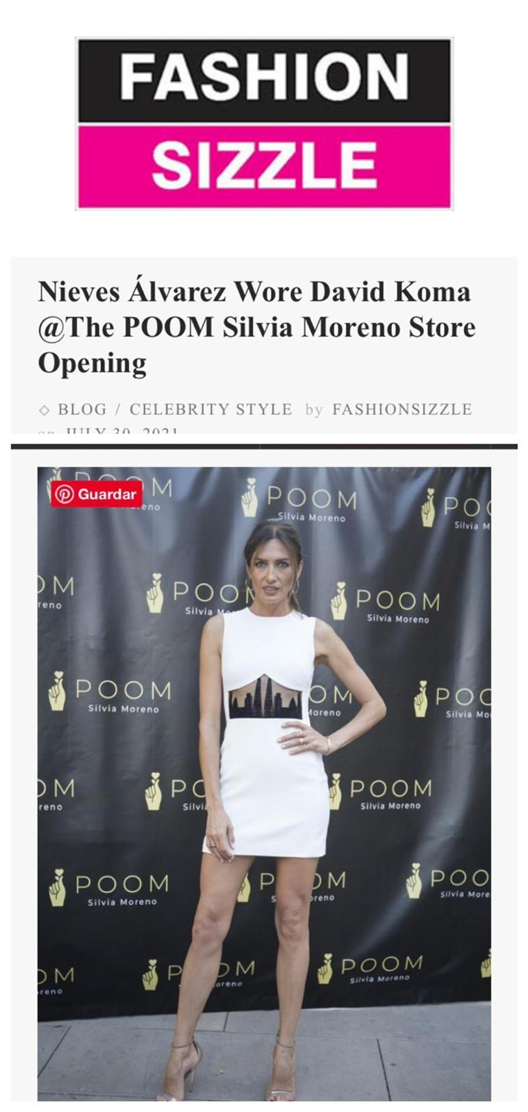 Silvia Moreno Poom en Fashion Sizzle