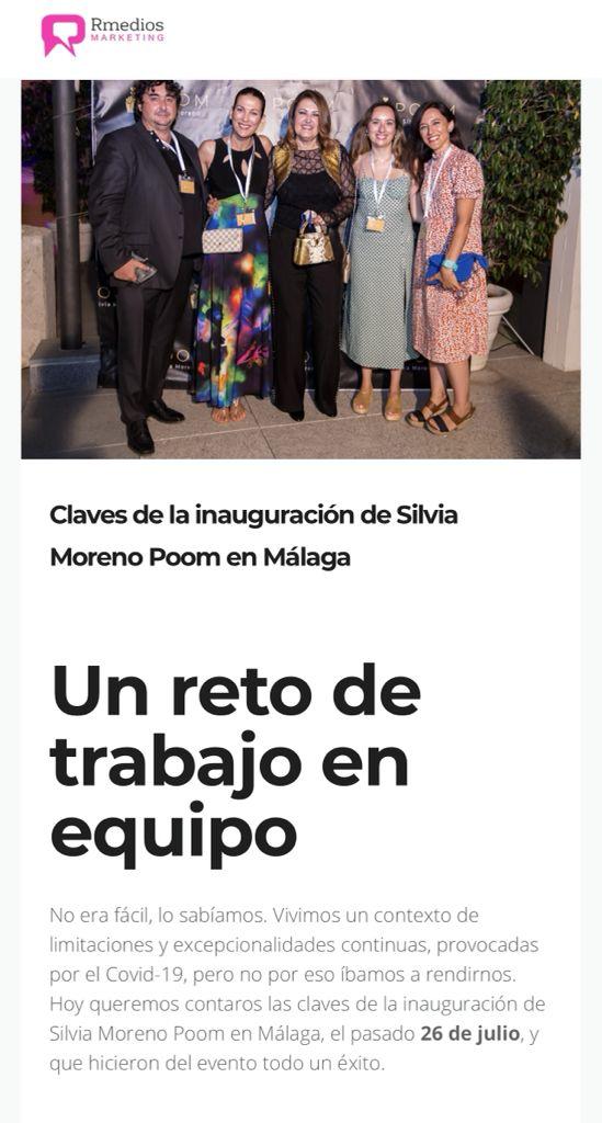 Silvia Moreno Poom en el blog de Rmedios Marketing