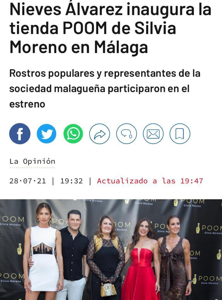 Silvia Moreno Poom en La Opinión de Málaga