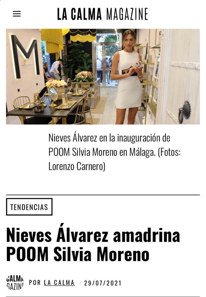 Silvia Moreno Poom en LA CALMA Magazine