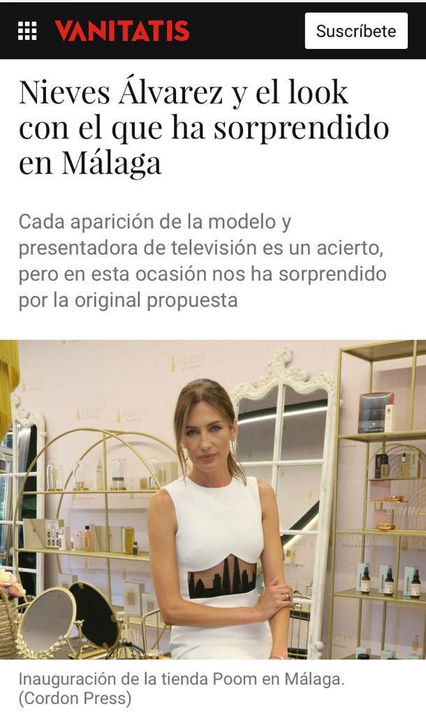 Silvia Moreno Poom en VANITATIS