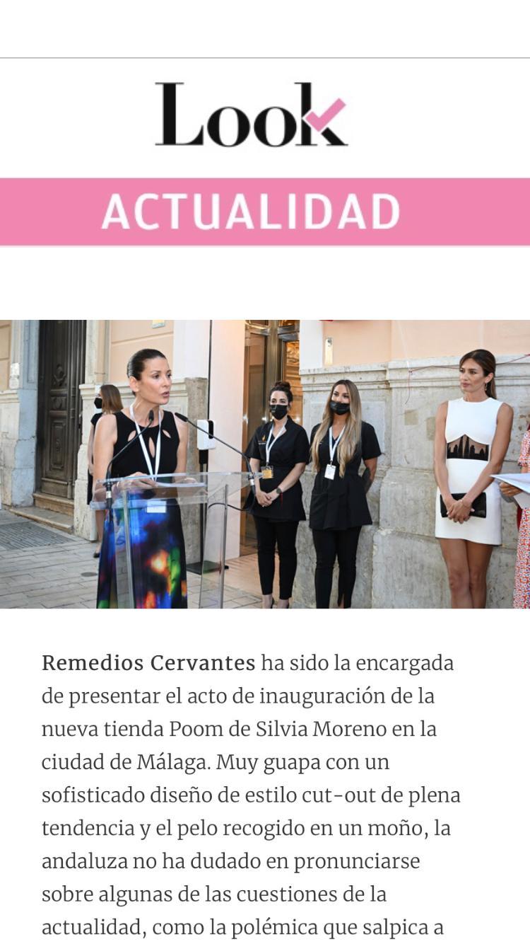 Silvia Moreno Poom en Look Actualidad