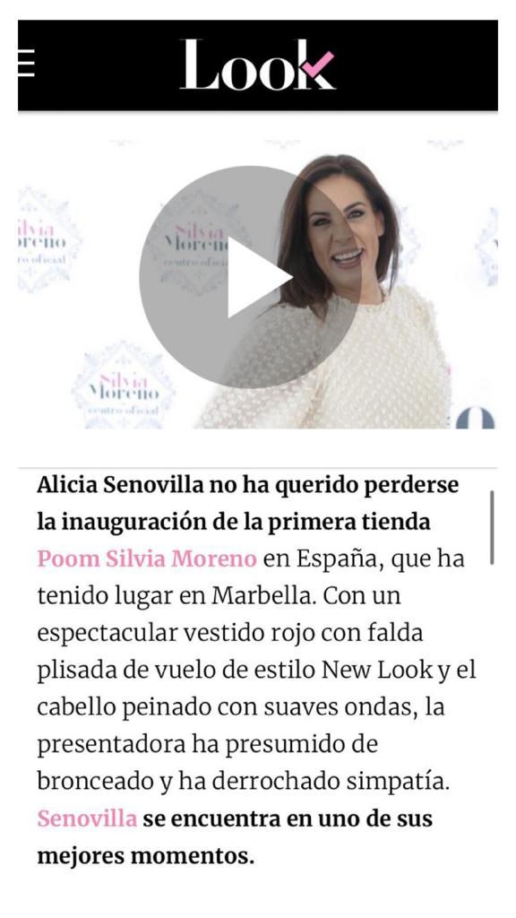 Silvia Moreno Poom en Look - Ok Diario